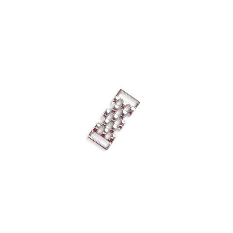 Украшение металлическое никель (10*30 мм)