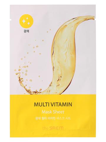 СМ BIO Маска на тканевой основе для лица BIO SOLUTION Radiance Multi Vitamin Mask Sheet
