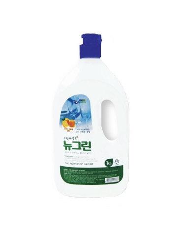 Гель для мытья посуды Welgreen New Green мягкий с ароматом апельсина 1 кг
