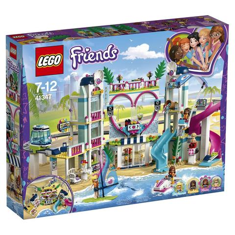 LEGO Friends: Курорт Хартлейк-Сити 41347 — Heartlake City Resort— Лего Френдз Друзья Подружки