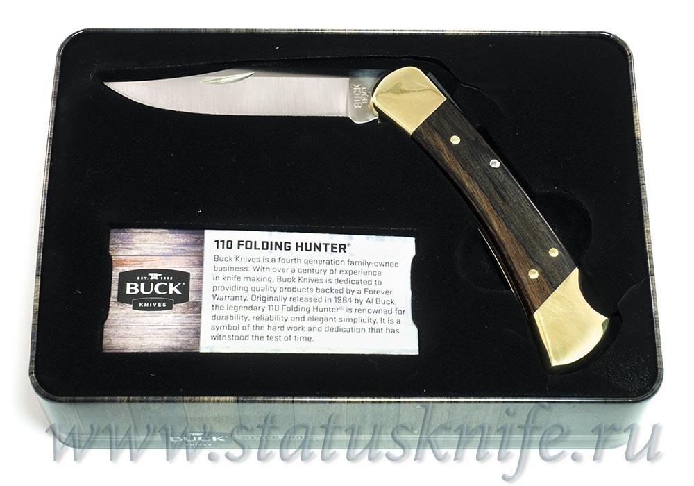 Нож BUCK Folding Hunter 110 ПОДАРОЧНЫЙ - фотография