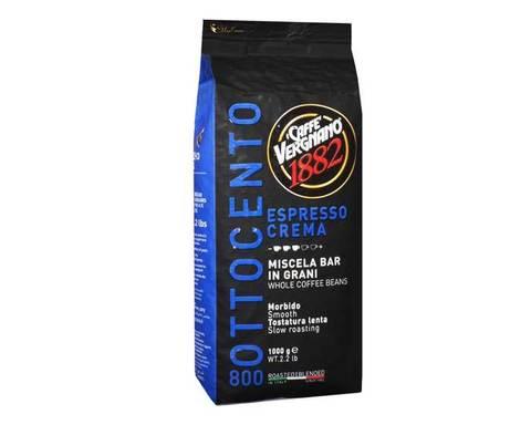 Кофе в зернах Vergnano Espresso Crema 800, 1 кг