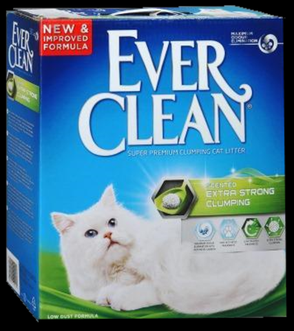 Ever Clean Extra Strong Clumping Scented. Наповн д/кот. туал Екстра Сила з ароматом.