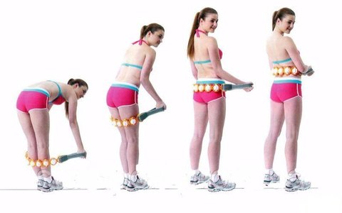 Роликовый массажер Massage Rope