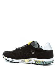 Замшевые кроссовки Premiata Eric 4737 с перфорацией
