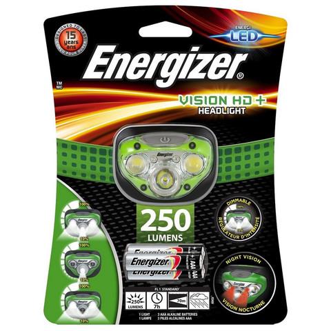 Фонарь налобный Energizer Vision HD+ Headlight