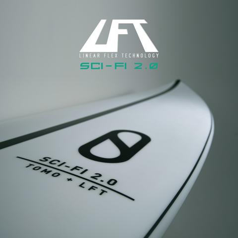 SLATER DESIGNS Sci-Fi 2.0 LFT 6'2
