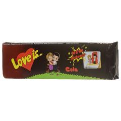 Жевательные конфеты Love Is - новые вкладыши, любимые вкусы (кола-лимон )