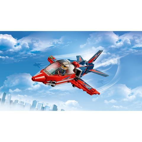 LEGO City: Реактивный самолет 60177 — Airshow Jet — Лего Сити Город