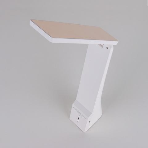 Настольный светодиодный светильник Desk белый/золотой TL90450