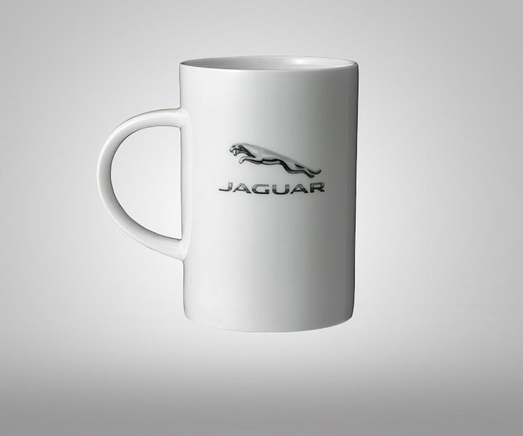 Керамическая кружка Jaguar Corporate Mug - White
