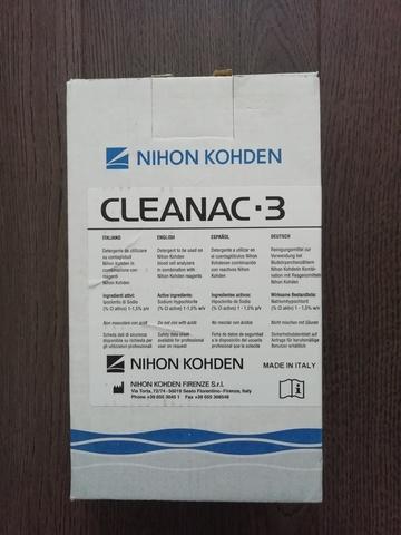 МЕК-620I/МЕК-6201 Очищающий реагент Клианак 3 (Cleanac-3 MEK-620 I), 1 л - Nihon Kohden Firenze S.r.l., Италия (арт.MEK-620I)