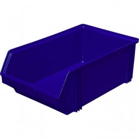 Ящик (лоток) универсальный полипропиленовый 500x310x183 мм синий