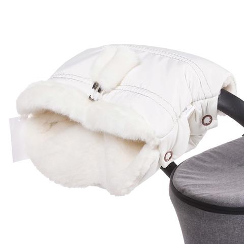 Муфта для коляски Lollycottons молоко