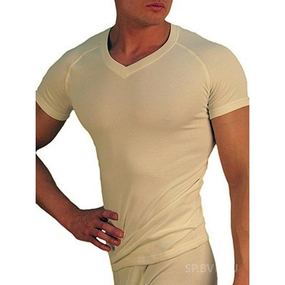 Мужская термо футболка кремовая Doreanse 2880