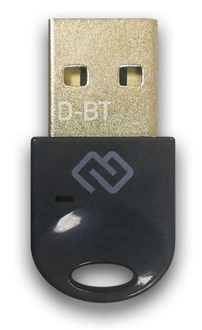Адаптер USB Digma D-BT400A Bluetooth 4.0+EDR class 1.5 20м черный
