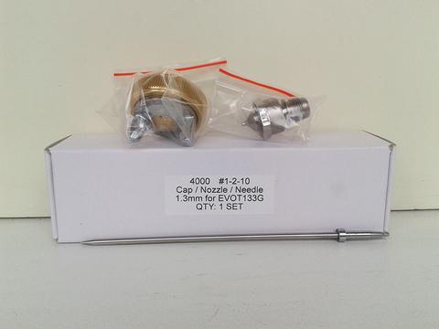 Сменный комплект для краскопульта STAR EVO-T 4000G, дюза 1.3