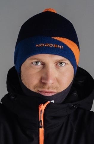 Шапка Nordski Line Orange
