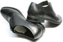 Мужская обувь под костюм Ikos 1157-1 Classic Black.