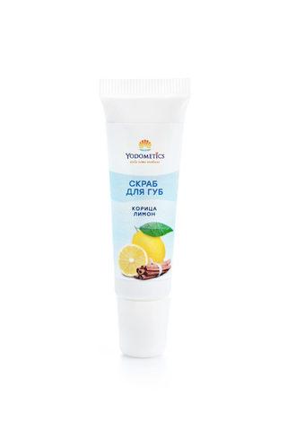 YODOMETICS Скраб для губ «Лимон и Корица» 12 мл
