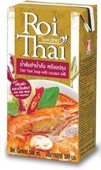 Суп том ям с кокосовым молоком ROI THAI