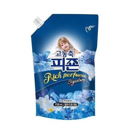 Кондиционер для белья Pigeon Rich Perfume супер-концентрат с ароматом Ледяной цветок 1600 мл в мягко