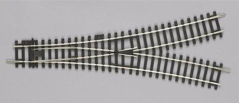 WY: Симметричная стрелка - 30°/R9, A-Gleis