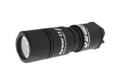 Фонарь светодиодный тактический Armytek Partner C1 v3, 740 лм, теплый свет, 1-CR123A