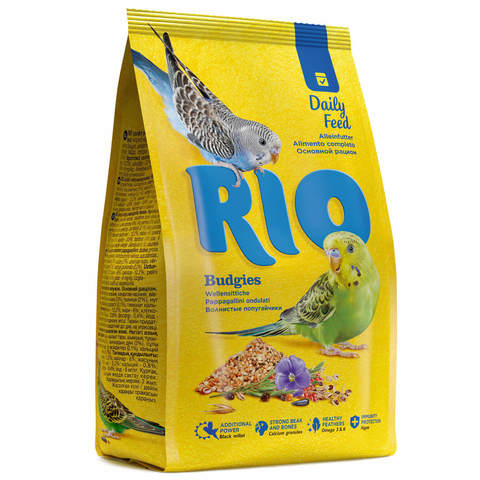 RIO корм для волнистых попугаев основной рацион 500г