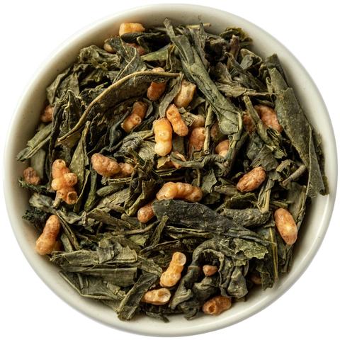 Рисовый чай Генмайча