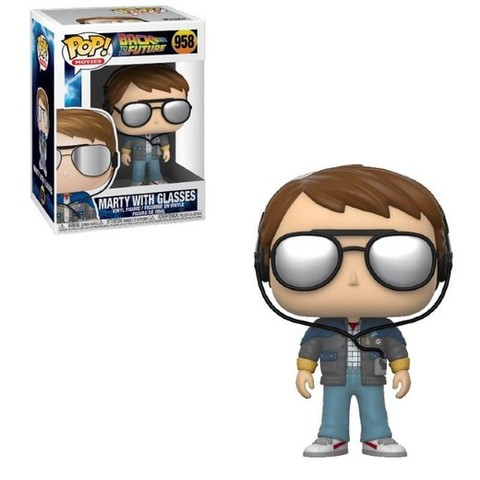 Marty with Glassed Funko Pop! || Марти в очках (Back to the Future)