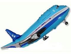 F Самолет (синий), 32