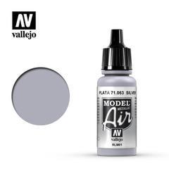 Model air 063-17ml. Silver rlm01 (metallic)