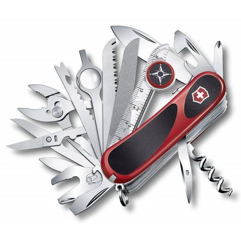 Нож перочинный Victorinox EvoGrip S54 (2.5393.SC) 85мм 31функций красный/черный