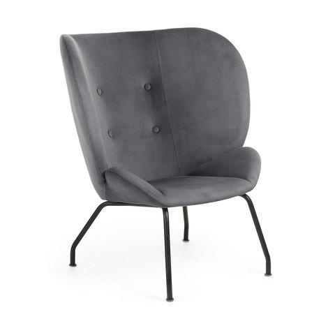 Кресло Egg Vernen темно-серое CC0753J15