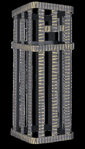 Сетка на трубу (300х300х500) Гефест ЗК 35/40/45 под шибер