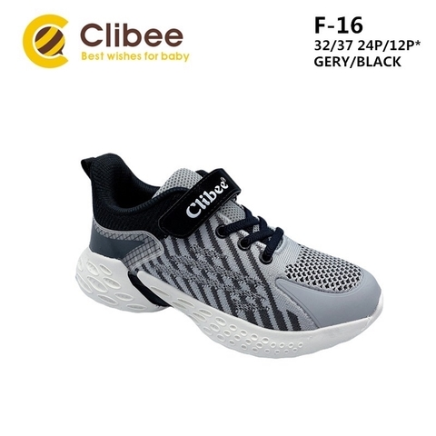 Clibee F-16 Grey/Black 32-37