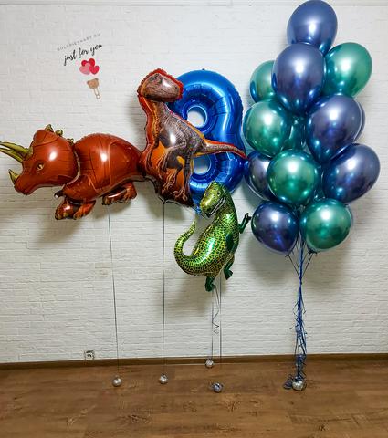 Воздушные шарики для мальчика