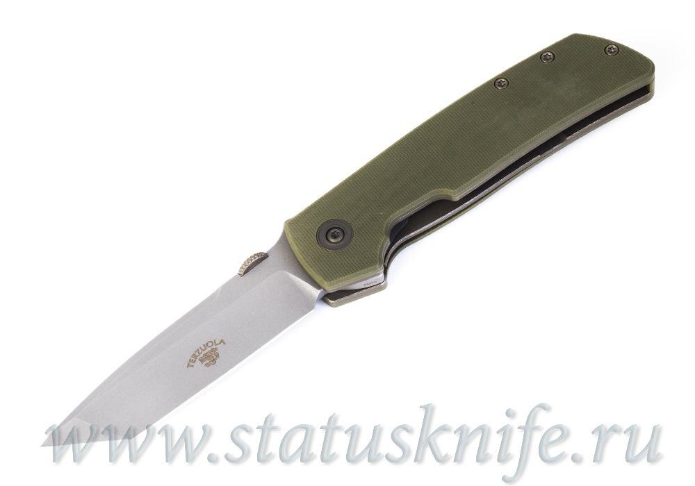 Нож Bob Terzuola ATCF Tanto OD Drop