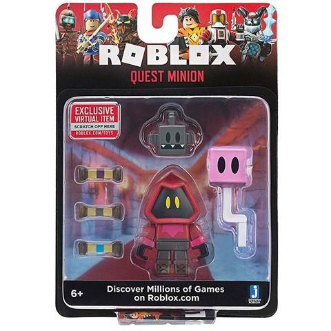 Игровая коллекционная фигурка Jazwares Roblox Core Figures Quest Minion W6
