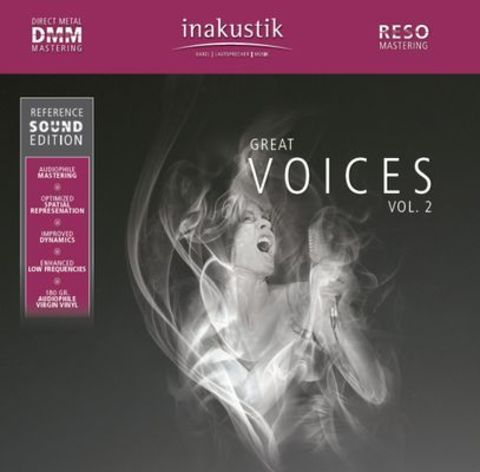 Inakustik LP, Great Voices Vol. II, 01675021