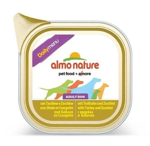 Консервы (ламистер) Almo Nature Daily Menu - Turkey and Courgette