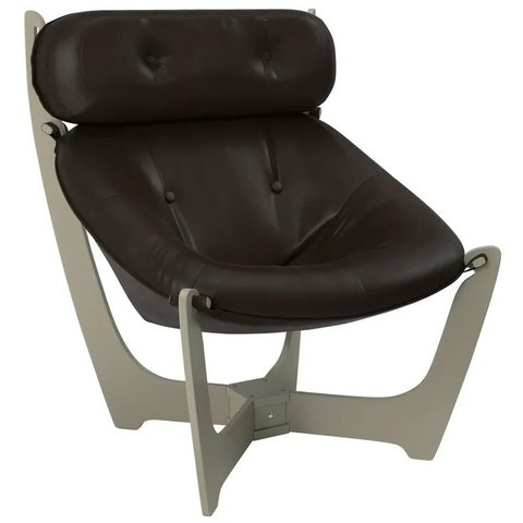 Кресло для отдыха Комфорт Модель 11 серый ясень/Dundi 108