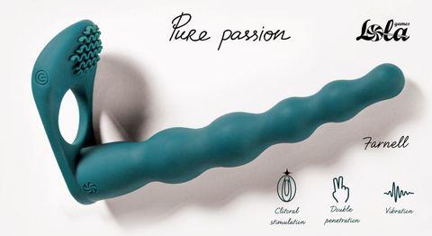 Зеленая вибронасадка для двойного проникновения Farnell - 17 см.