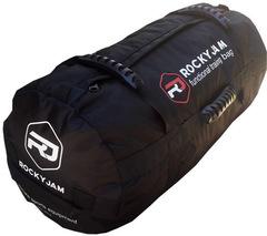 Сэндбэг RockyJam L (35-100 кг) черная с резиновыми ручками
