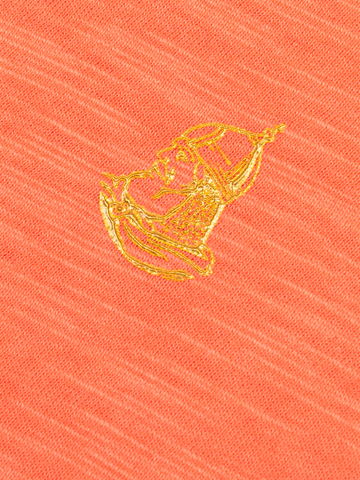Женская футболка «Великоросс» персикового цвета