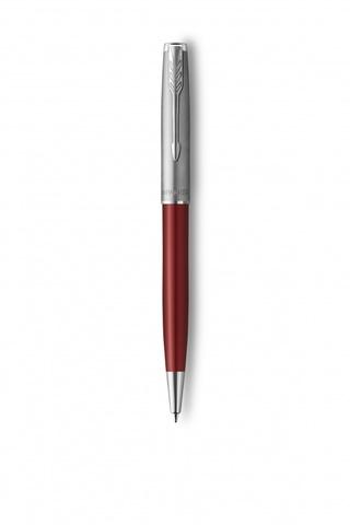 Шариковая ручка Parker Sonnet Entry Point Red Steel в подарочной упаковке123