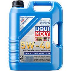 8029 LiquiMoly НС-синт.мот.масло Leichtlauf High Tech 5W-40 SN/CF;A3/B4(5л)