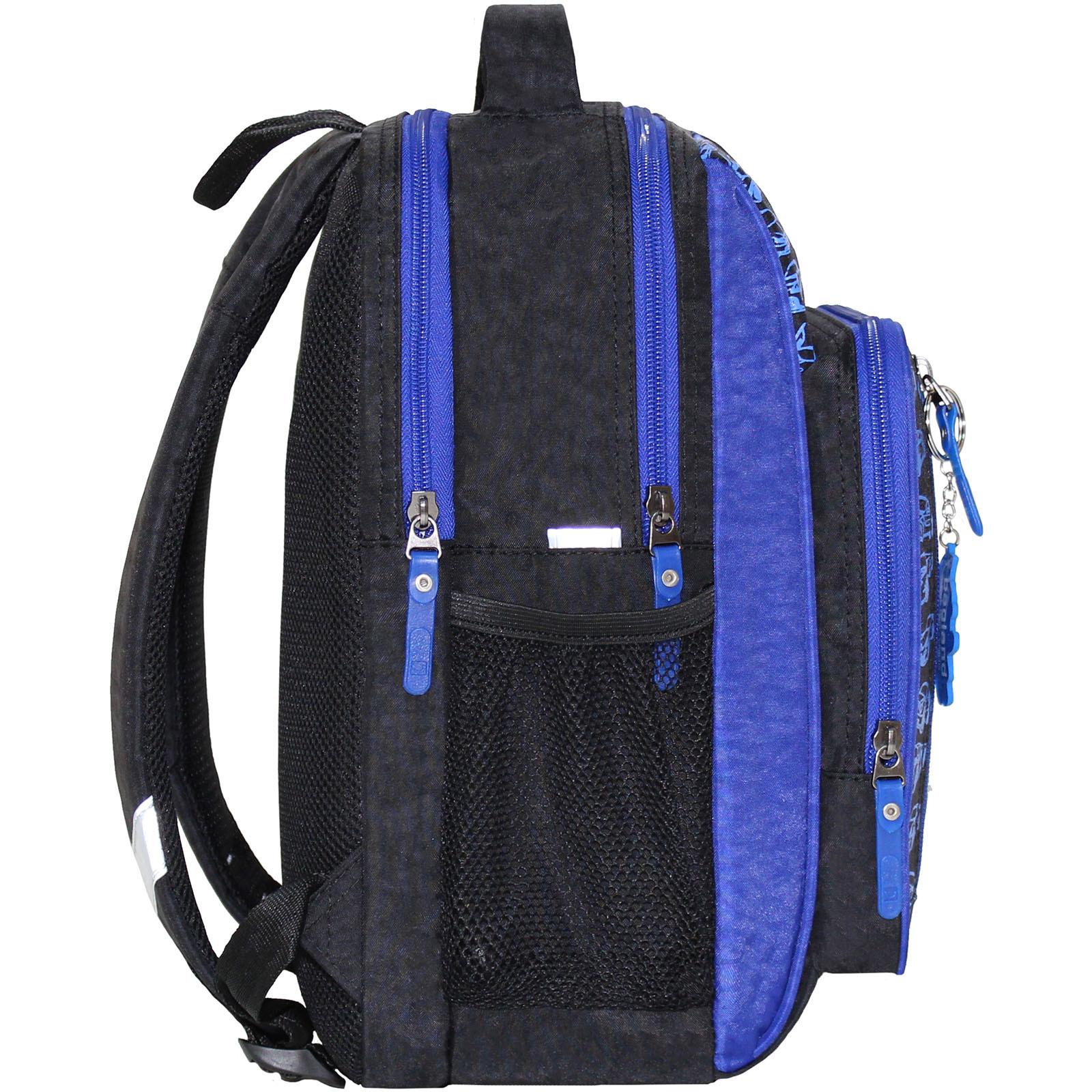 Рюкзак школьный Bagland Школьник 8 л. черный 3м (0012870)