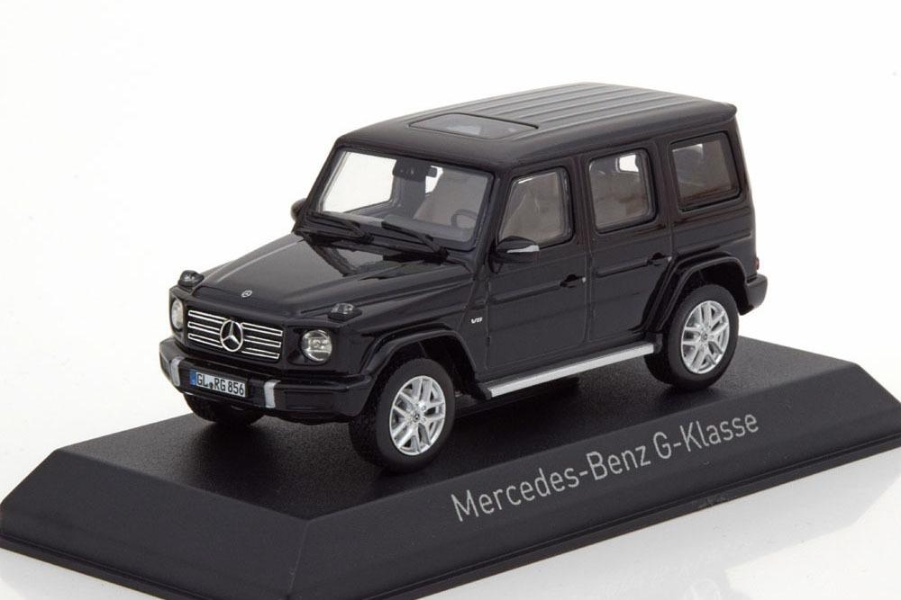 Коллекционная модель Mercedes-Benz W463 II G-CLASS 4Х4 NEW BODY 2019 BLACK
